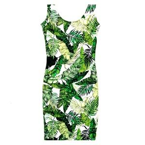 Perfect Tropical Palm Dress